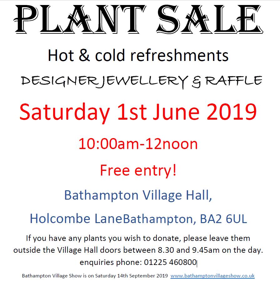 Bathampton Plant Sale